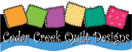 Cedar Creek Quilt Designs